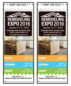remodeling expo tickets