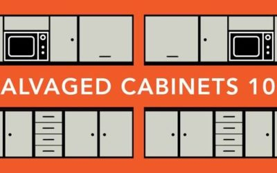 Salvaged Cabinets 101 Workshop: 3/9