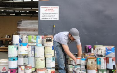 Recycle Latex Paint at Second Use