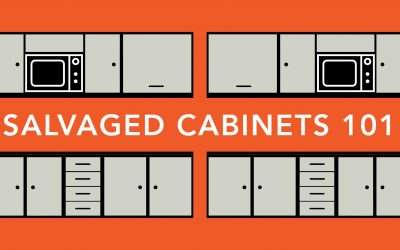 Free Salvaged Cabinets 101 Workshop in February