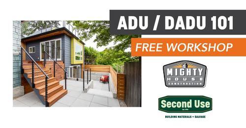 Seattle ADU/DADU 101 – Presented with Second Use