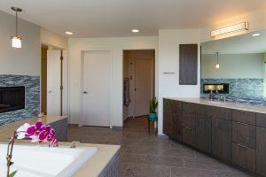 Bathroom in Magnolia remodel