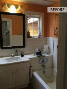 Carlson Bathroom Remodel - Before